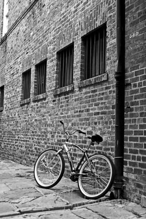 French Quarter Bike (Black and White)