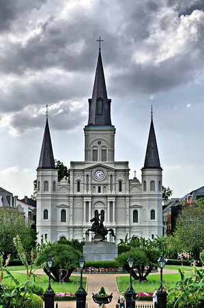 St. Louis Cathedral (Filtered)