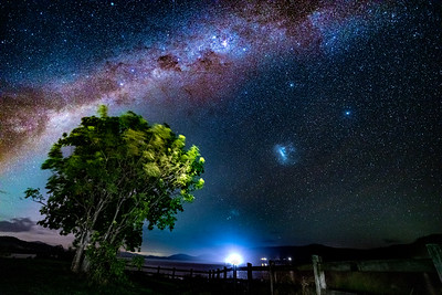 Somesed Dam Milky Way Night Sky