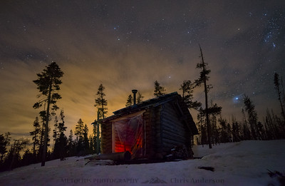 Jeff View Shelter Nightscape