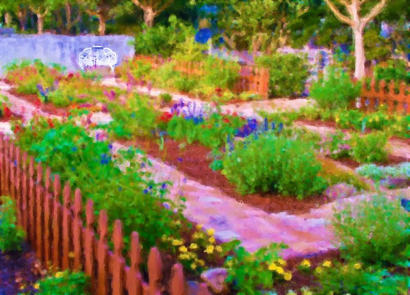 Nectar Garden Paninted