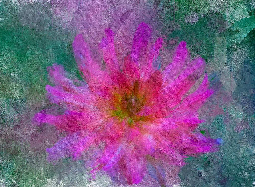 Monet's Pink Dahlia 3