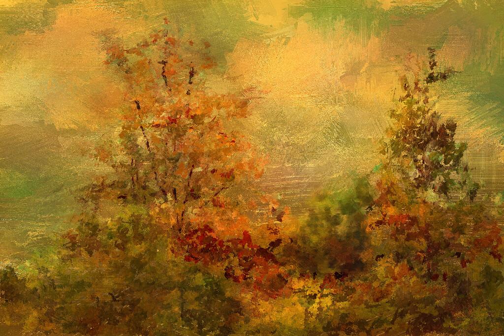 Golden Leaves Back Yard_008text