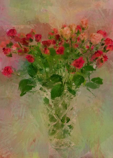 Buds in a Vase Love letter