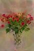 Buds in a Vase Haystack Canvas