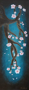 """Cherry Blossom"" Painting"