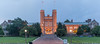 Brooking Hall at Washington University in St. Louis, MO - dusk