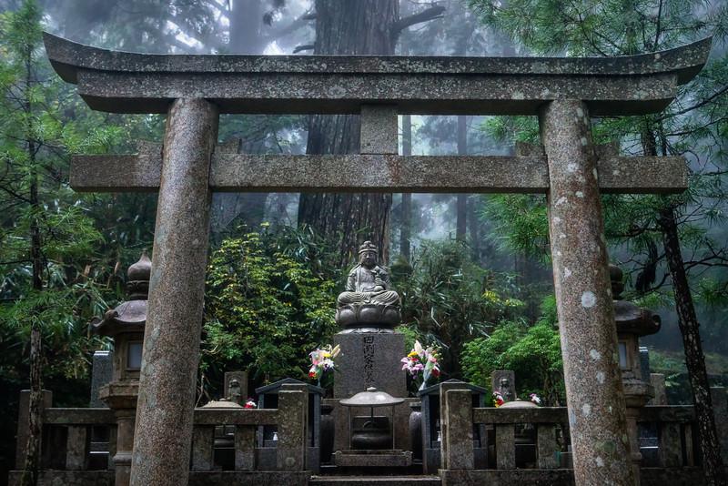 Torii & Buddha