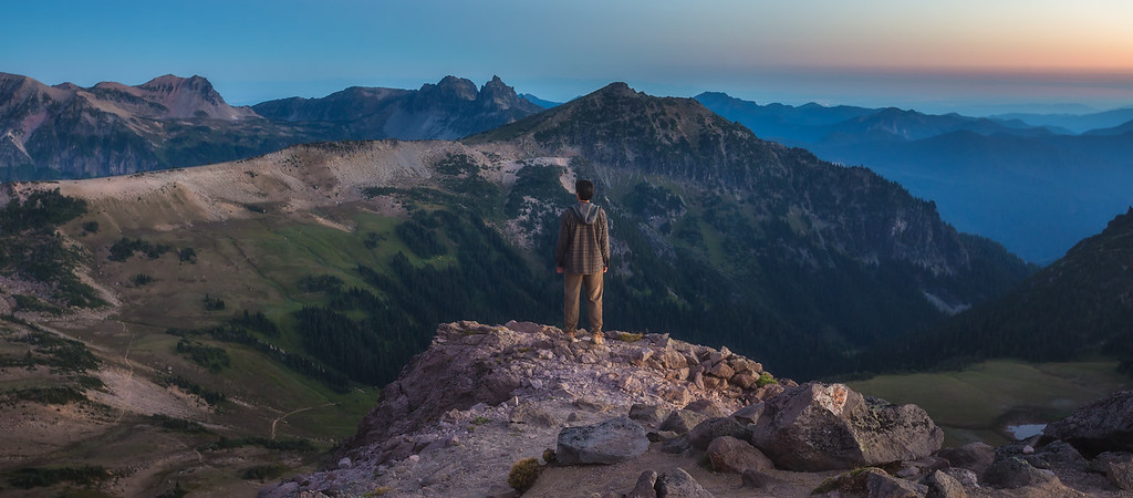 Photo of Mount Rainier National Park, Washington state