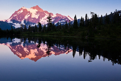 Mount Shuksan - Mount Baker National Forest, WA