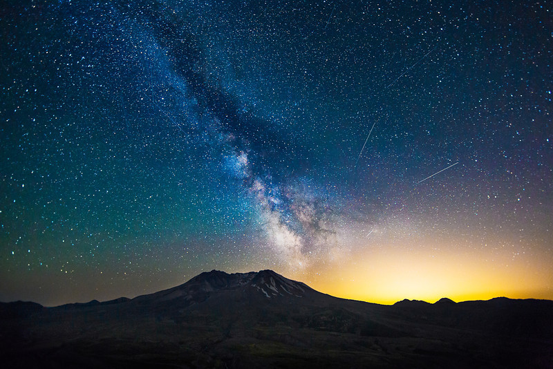Mount St. Helens Fire