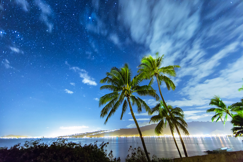 A Starry Night In Paradise