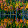 Red Jack Lake Fall Reflection
