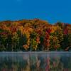 Moon Over Pete's Lake