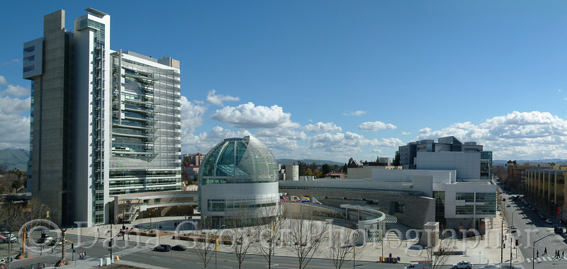 Civic Center Panorama, San Jose, CA