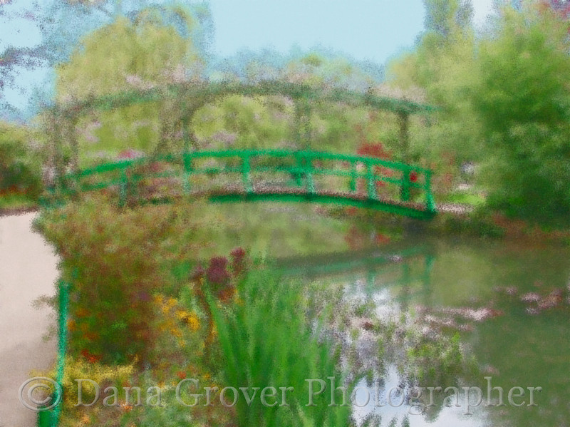 Japanese Bridge, Monet's Giverny (an impression)