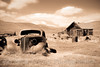 Old Car, Bodie (sepia)