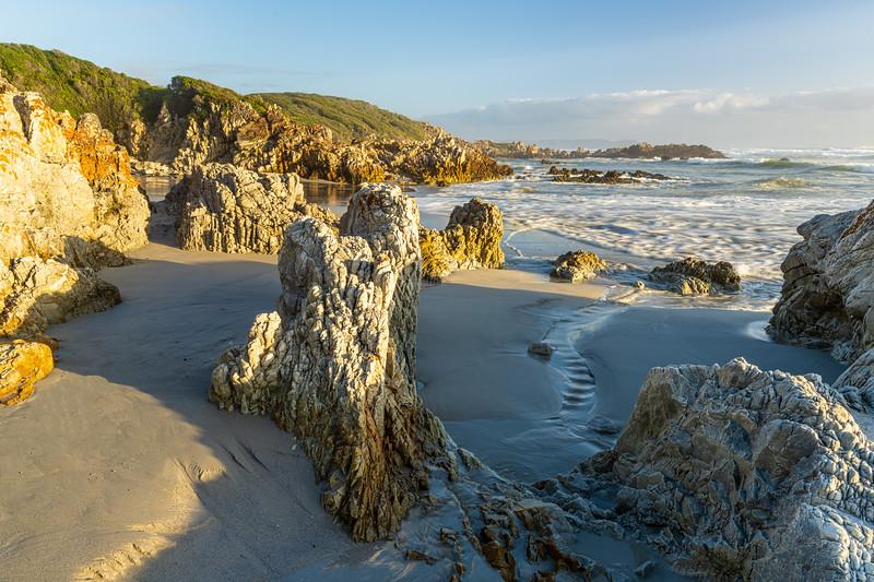 Rocky coastline, Hermanus