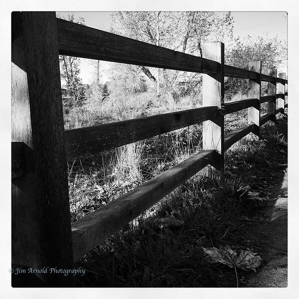 Willamette River Fence