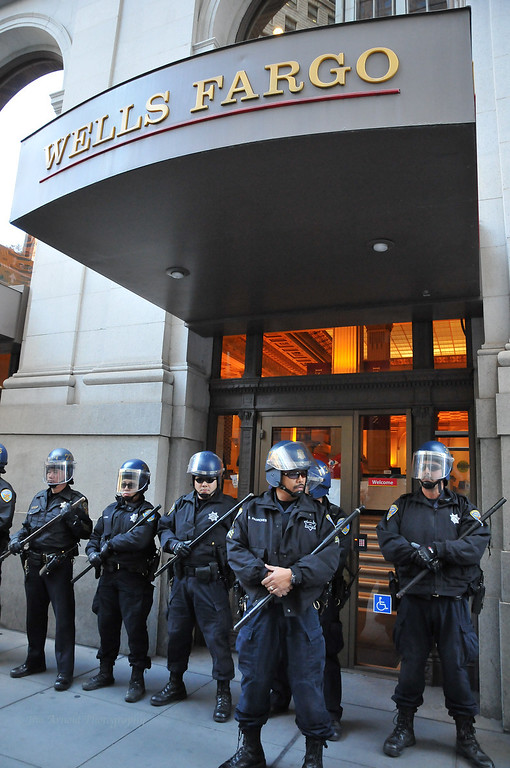 Riot Ready at Wells Fargo