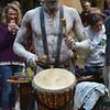Drumming Mud Person
