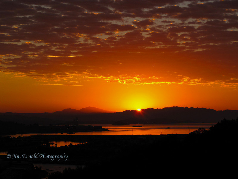 Sunrise Over San Quentin