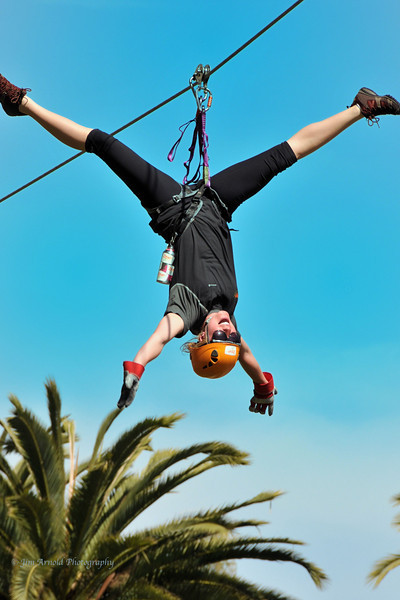 Riding the Zip Line With Symmetry and Joy