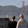 Gazing the Golden Gate