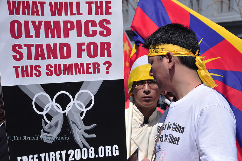 Olympic Torch Protests