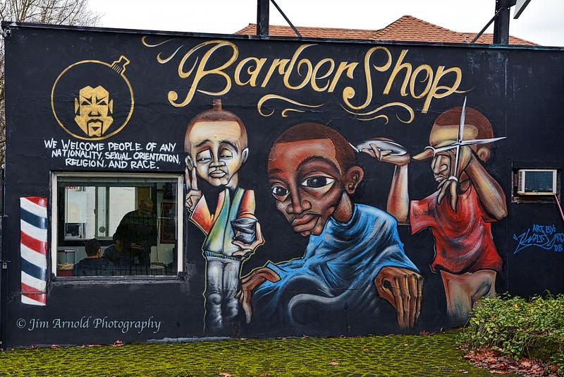 Barber Shop Art
