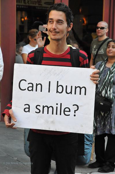 Bum A Smile?
