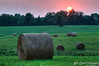 Hay field at Sunset (HDR)