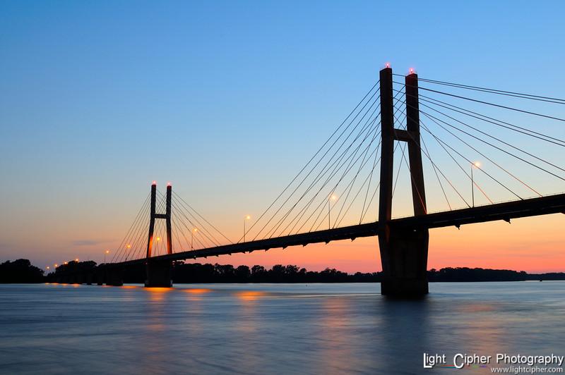 Quincy Bridge Dusk
