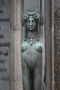 Bronze Sphinx, Montmartre