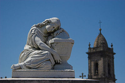 """""""Solace"""", Cemetery of Our Lady of Lapa, O Porto"""