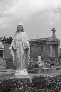 Mother Mary, St. Louis Cemetery, New Orleans