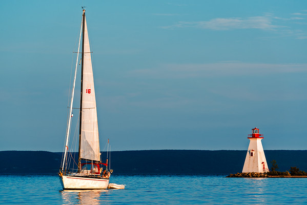 Sailboat Lighthouse 3