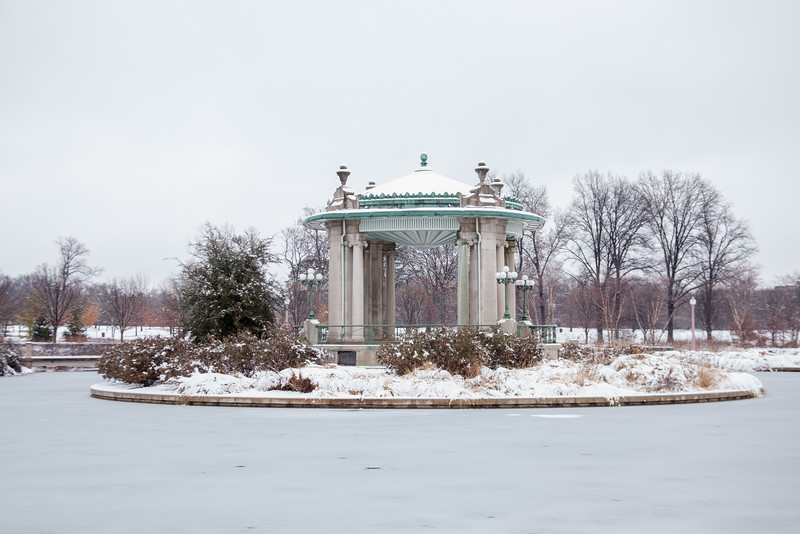 Forest Park Band Stand