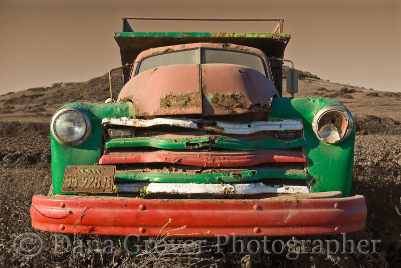 Painted Truck, Davenport, CA