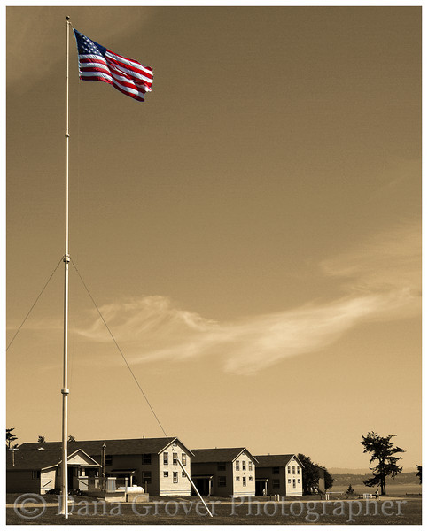 Flag, Fort Flagler, WA (really!)