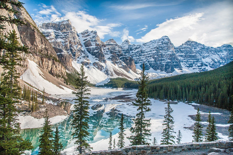 Moraine Lake - Late Spring