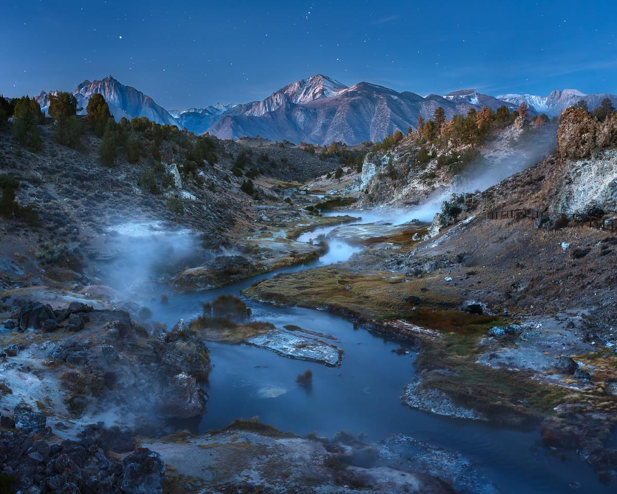 Hot Creek Twilight