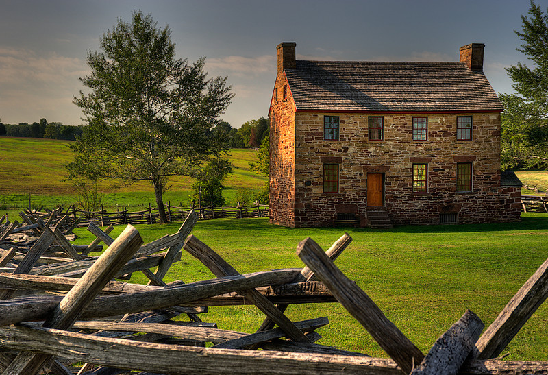 Stone House, Manassas Battlefield National Park, Manassas, Virginia