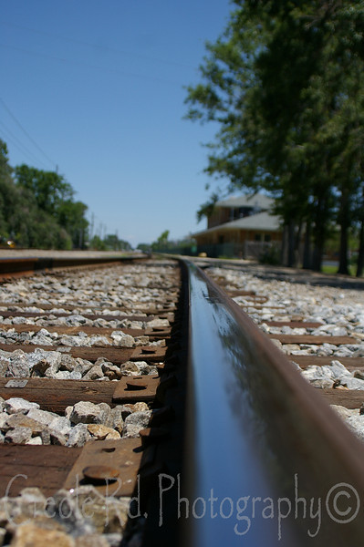 Slidell Train Tracks