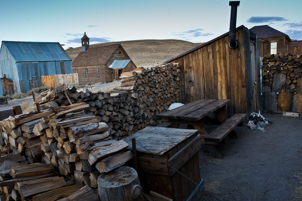 Enough wood for the long cold winter? I don't think so...