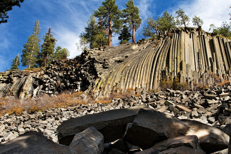 Bottom of the Postpile