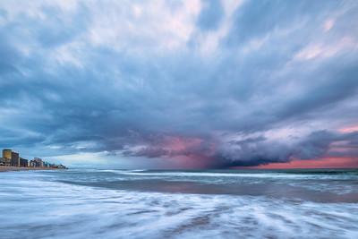 VB Oceanfront Storm