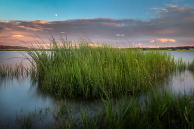 Crab Creek Sunset