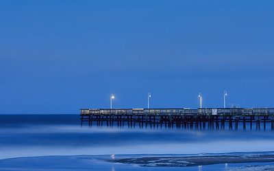 Sandbridge Pier at Dusk-100