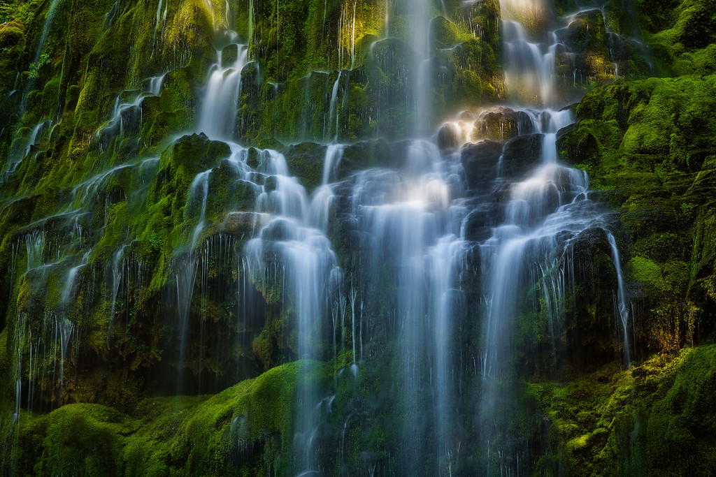 Photo of Proxy Falls a waterfall in central Oregon